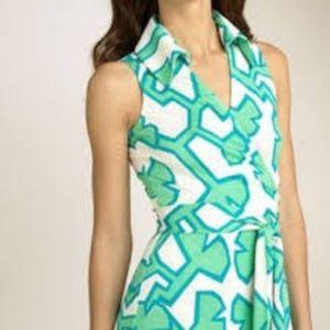 Diane von Furstenberg St. Jude wrap dress, 6